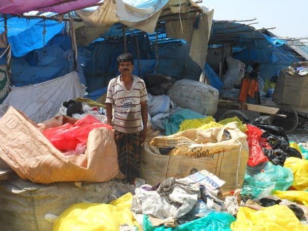 Informal waste workers