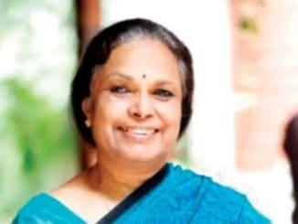 K Sujatha Rao, former union health secretary