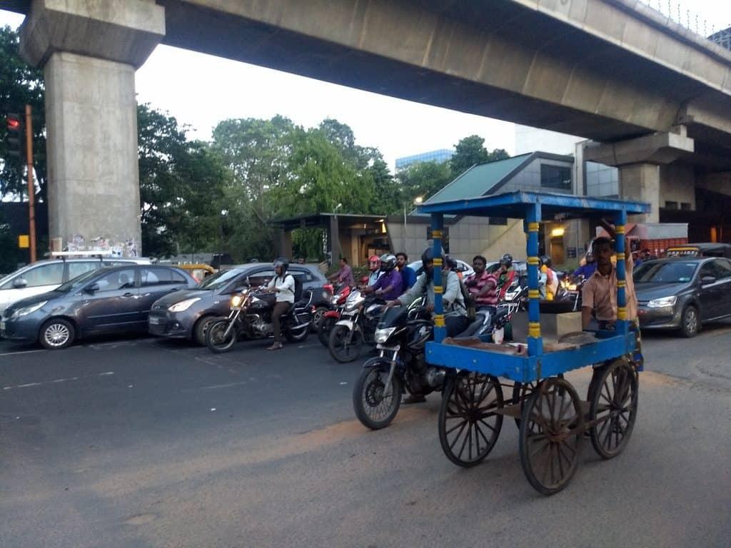 Vehicular emissions in Chennai