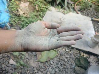 Dust pollution in Thirusulam