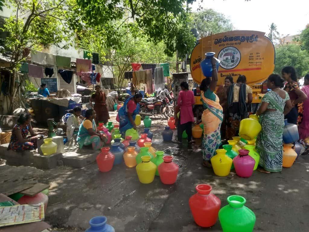 chennai water tanker
