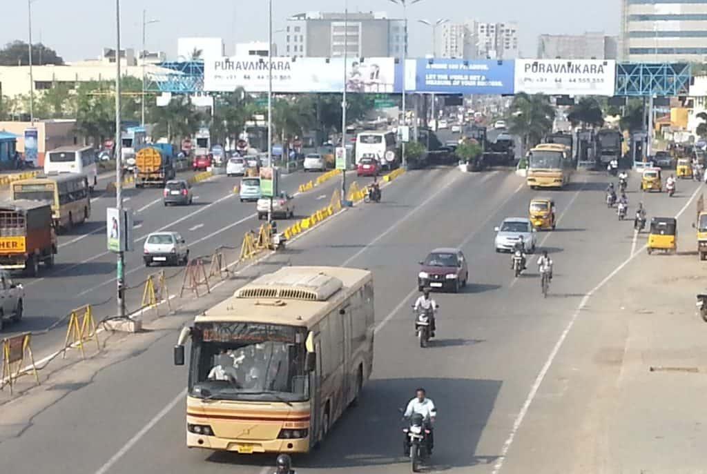Chennai OMR toll plazas