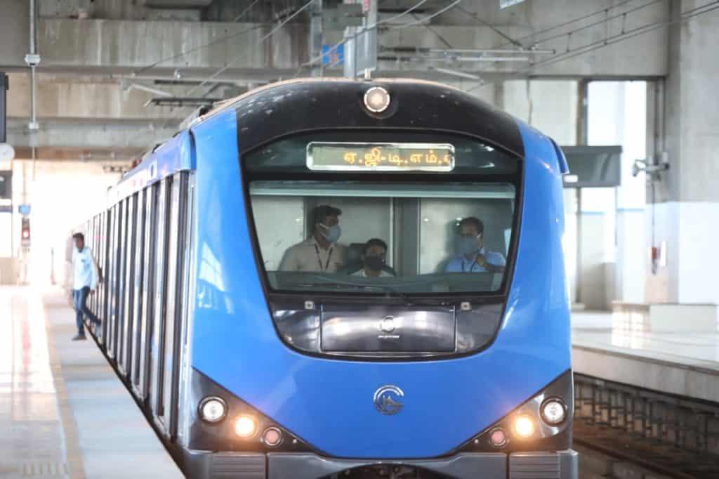 Chennai Metrol Rail phase 2