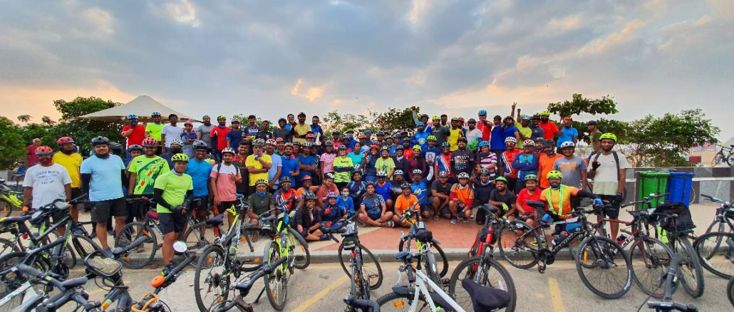 cyclists of chennai