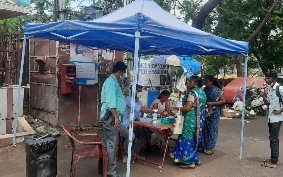 A fever camp in Chennai