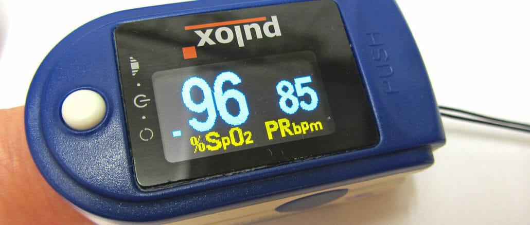 COVID pulse oximeter