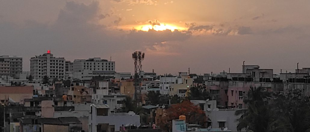 Unplanned urbanisation in Chennai has increased land surface temperatures (Chennai skyline)