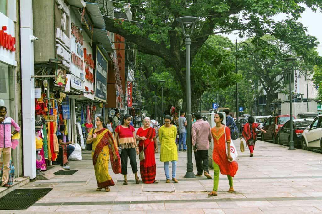 Pedestrian Plaza Pondy Bazaar T Nagar