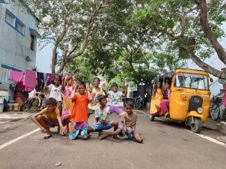 Children in housing boards