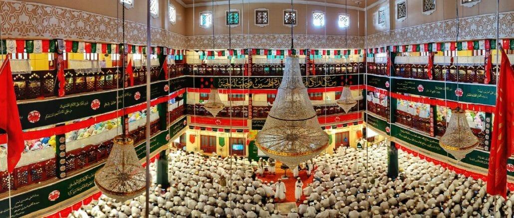 Bohra festival: Saifee Masjid during Ashara Mubarak