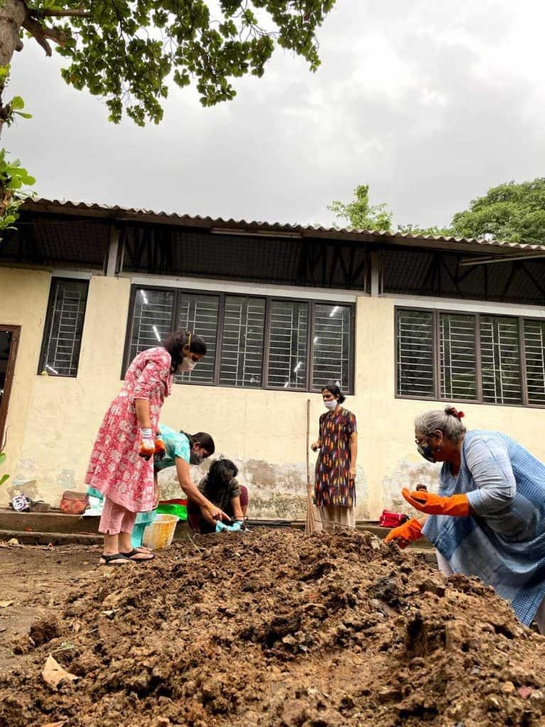 community garden kasturba nagar