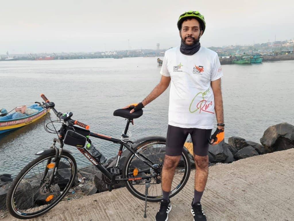 chennai cyclist