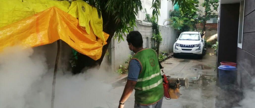 GCC conducting fogging to keep dengue at bay