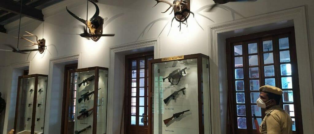 guns in chennai police museum